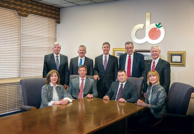 (Back Row) Mark Schreiber, Theron Stangry, Greg Littleton,  David Touchton (Secretary), Howard Wiggs<br> (Front Row) Jinx Wilson, Clay Wilson, Latimer Wilson (Chairman), Cindy Henry<br> (Not Pictured) Weymon Snuggs